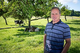 Pierre-André agriculteur