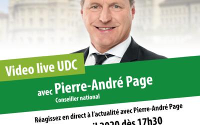 Vidéo Live UDC